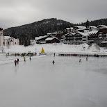 icering in Seefeld, Tirol, Austria