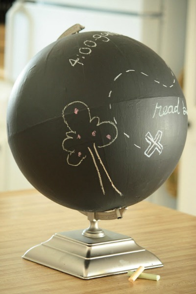 Chalkboard Globe Tutorial