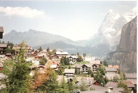 Imagini Elvetia: Murren si panorama Jungfrau