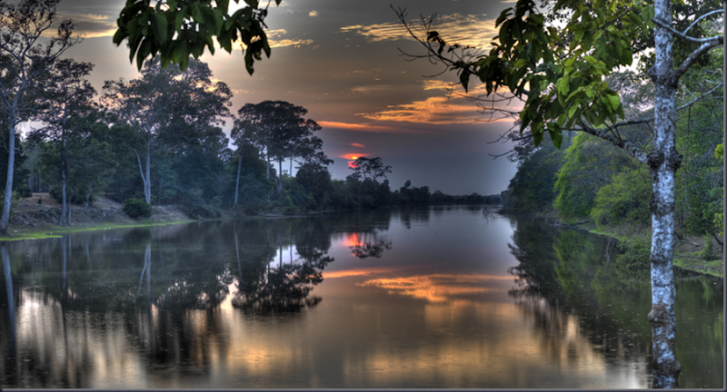 Christian Voigt_Cambodia-Angkor Thom Sunset