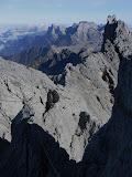 Carstensz summit ridge looking west (Idenberg Top) (Robert Cassady, 2010)
