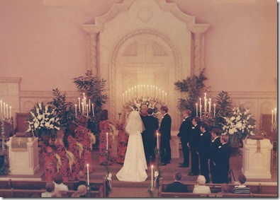 sanctuary wedding image