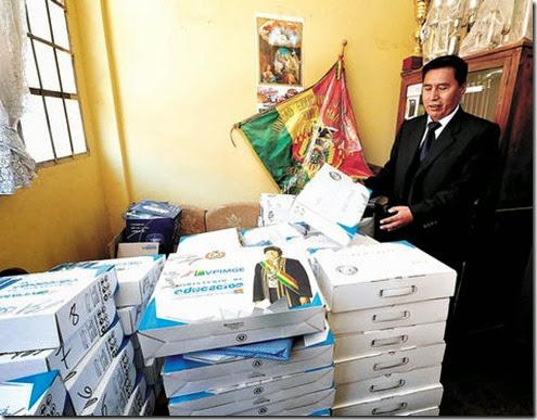 Computadoras para estudiantes de El Alto