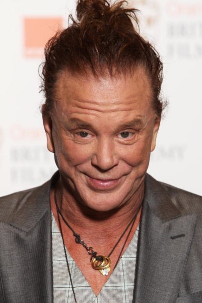 Mickey Rourke Bad Hair