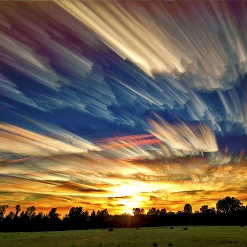 Beautiful 'Smeared Skies' Photos by Matt Molloy