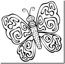 colorear mariposas pintaryjugar com (21)