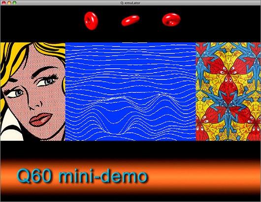 Q60 display small