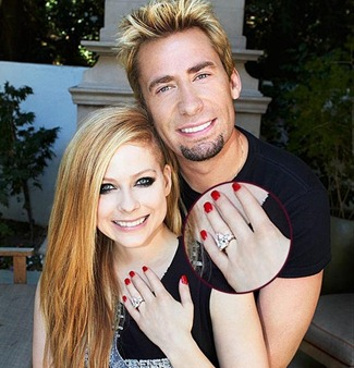 Avril Lavigne's Engagement Ring Cost $350,000