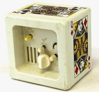 Bulova playing cards clock mechanism