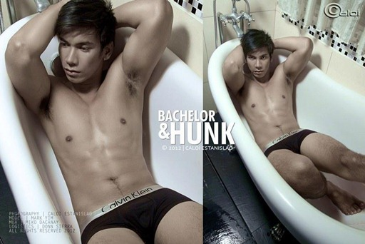 bachelor and hunk