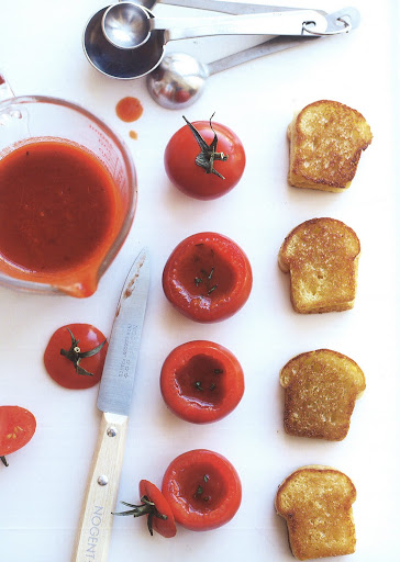 Tomato soup and grilled cheese is a classic that appeals to the kid in all of us.