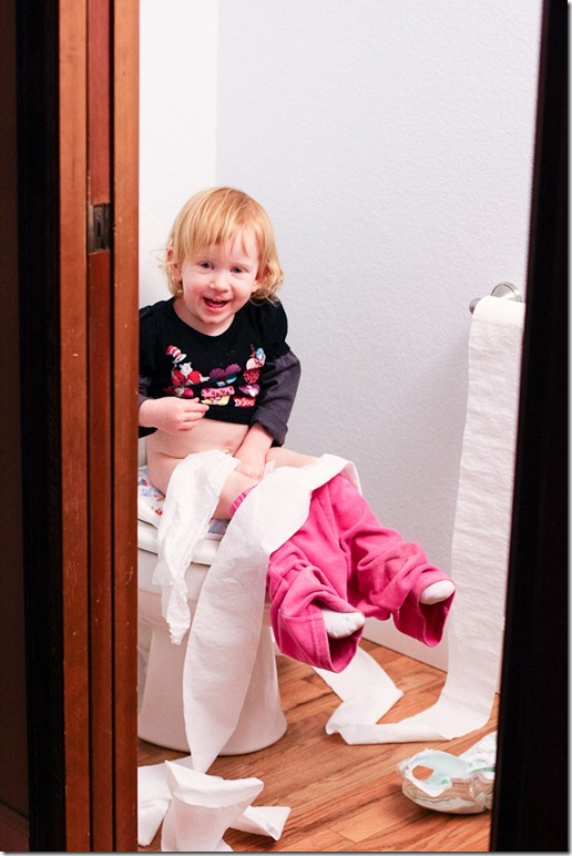 Sara on the potty-5 blog
