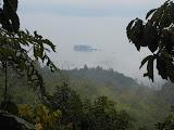 Looking down on Danau Ranau from the lower slopes of Gunung Seminung (Dan Quinn, October 2012)
