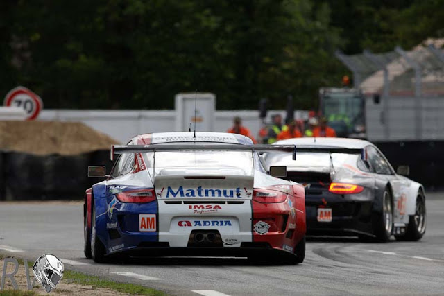 The IMSA Porsche ran well, fighting for the lead until very late in the race (PHOTO: Porsche)