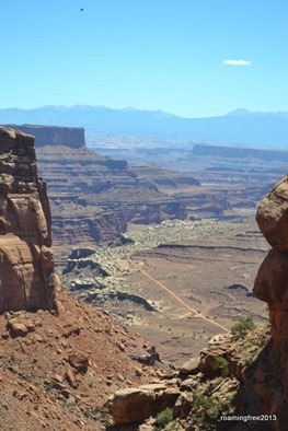 White Rim Trail - on the top of the canyon