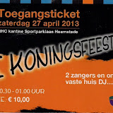 RCH Koningsfeest 27-04-2013