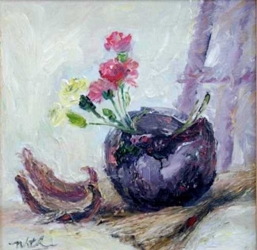 tranh son dau cua hoa si nhuan thuong 13