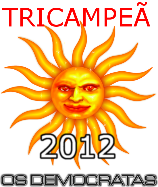 Democratas Tricampeã do Carnaval de Laguna 2012