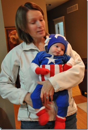 Captain America and His Mom