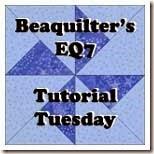 beaquiltersEQ7tutorialtuesday