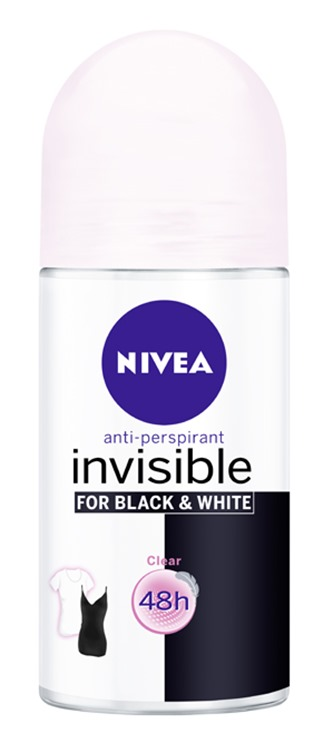 NIVEA Deodorant Invisible for Black & White CLEAR Roll-on