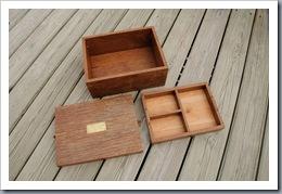 Mahogany box for my neice