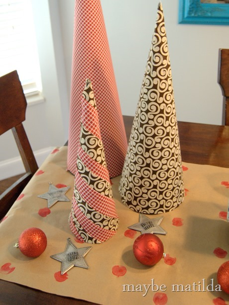 DIY Simple Painted Table Runner
