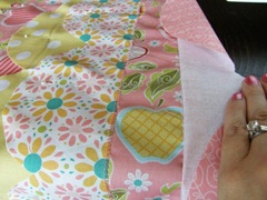 Fold it up and keep sewing