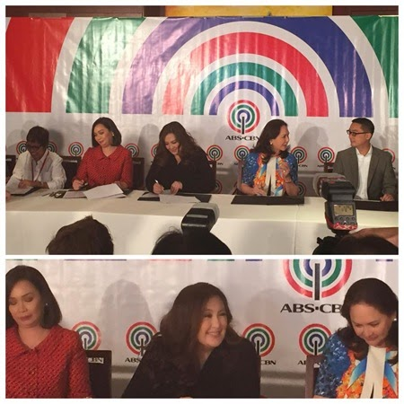 Sharon Cuneta signs with ABS-CBN