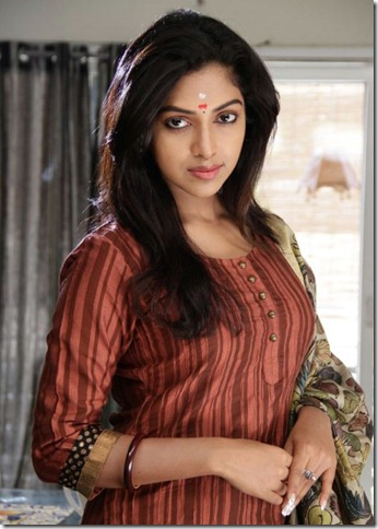 Actress Amala Paul in Nimirnthu Nil Movie Latest Stills