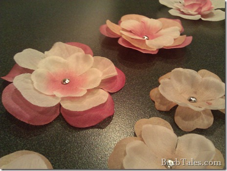 DIY Baby Hair Flowers