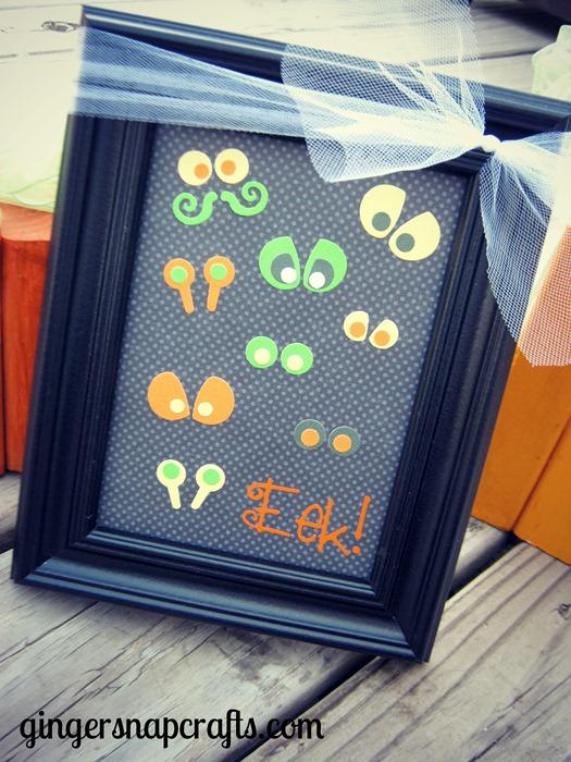 Eek!  Halloween frame