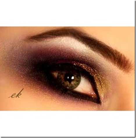 stylish and exclusive Arabic makeup _10_