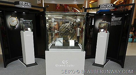 "Grand Seiko Watch 130th Anniversary Singapore""Best Mechanical Wrist Chronometer"" award in the Swiss Official Geneva Observatory Competition."