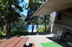 campsite 14 at Muncho Lake