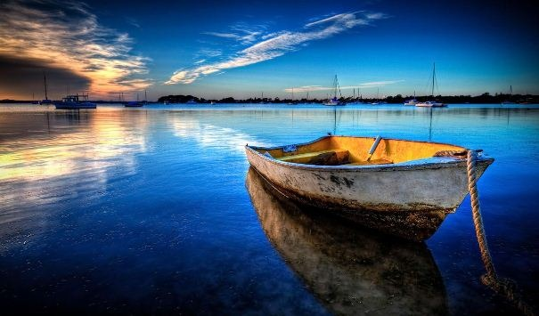canoa-solidao