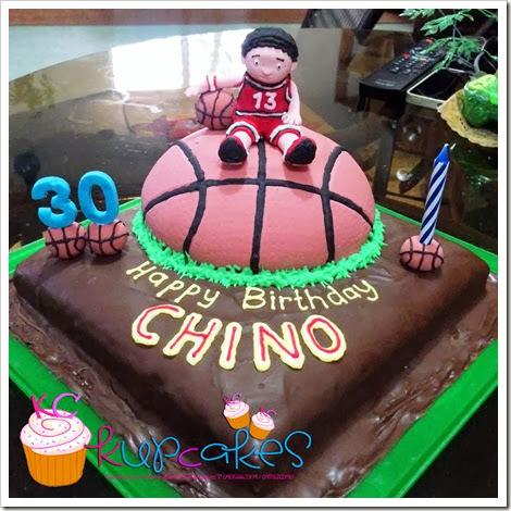 Basketballthemed Cake