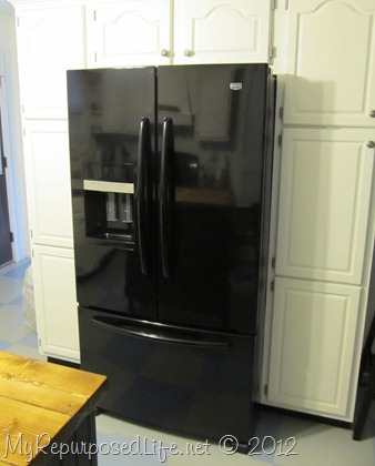 new black fridge