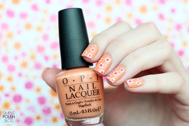 Nail-Art-Flowers-Dots-Spring-2