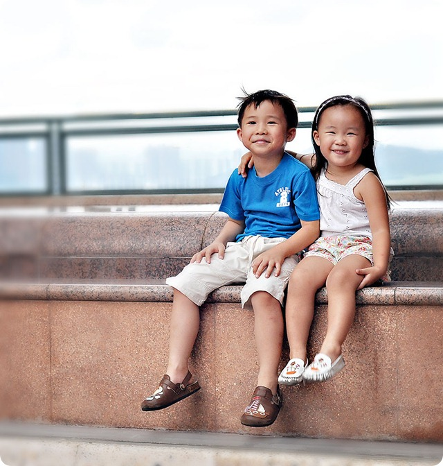 Smiling-duo