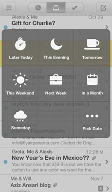 Mailbox para iOS