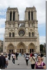 Notre-Dame, fachada oeste.
