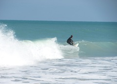 Florida Vero Beach surfer
