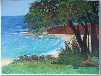 Tela Little Bay Austrália Acrílica