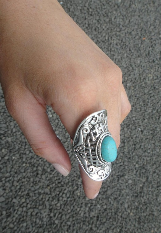 Ethnic Ring, £12, We Love To Boogie Vintage