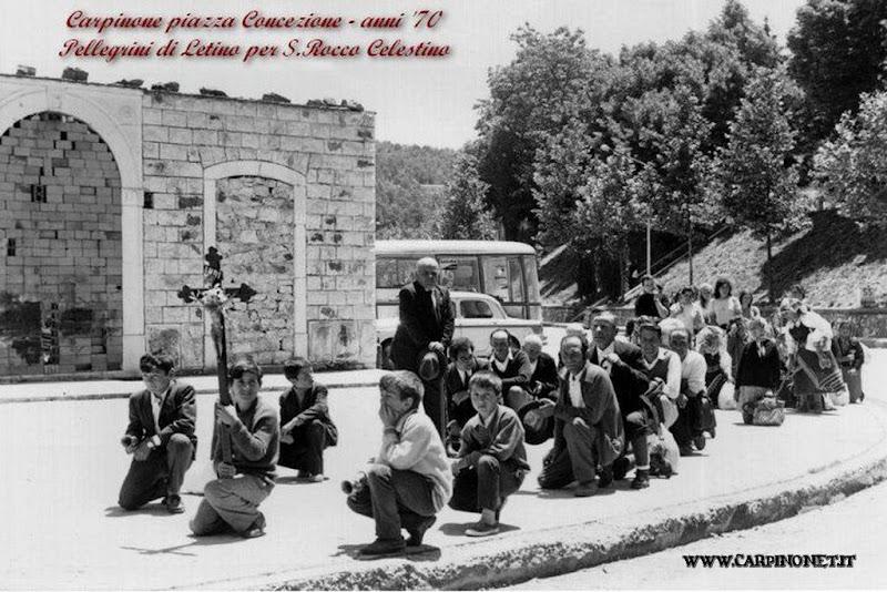 I pellegrini di Letino per la festa di San Rocco Celestino