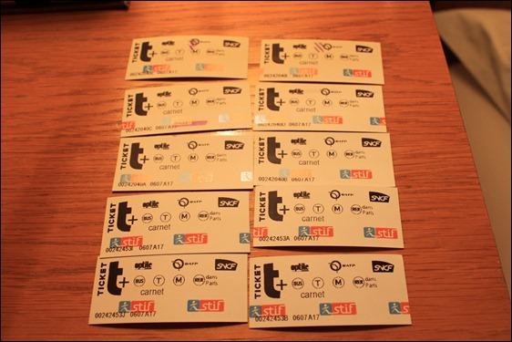 Ticket t 車票