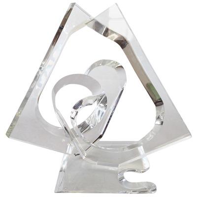 Large Hivo Van Teal acrylic sculpture