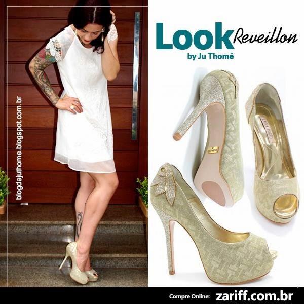 look reveillon zariff calçados