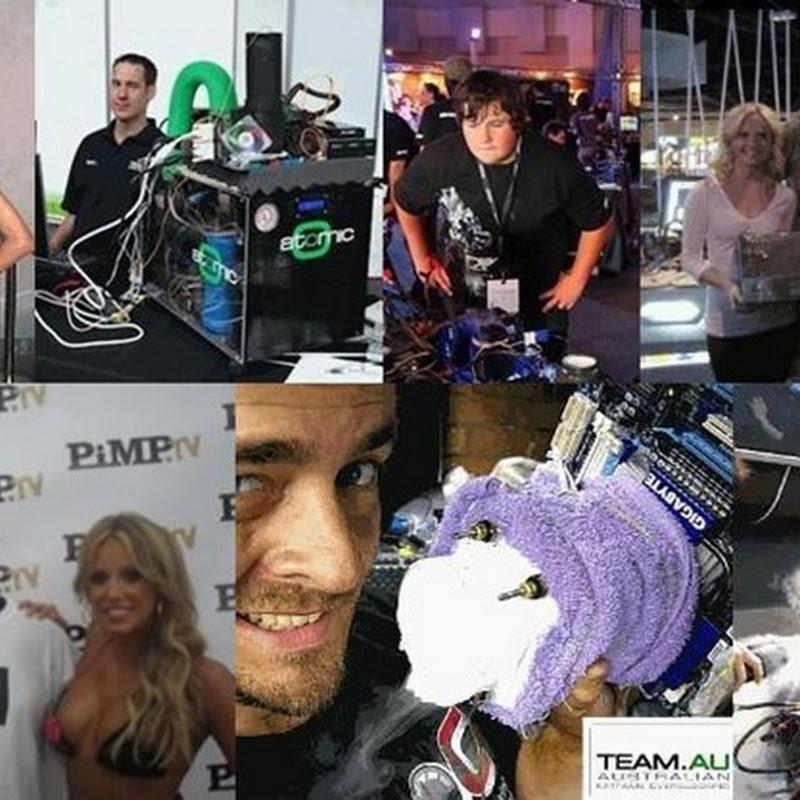 TeamAU on a roll breaking global #1 Heaven, #2 3DMARK01, #3 Aquamark records